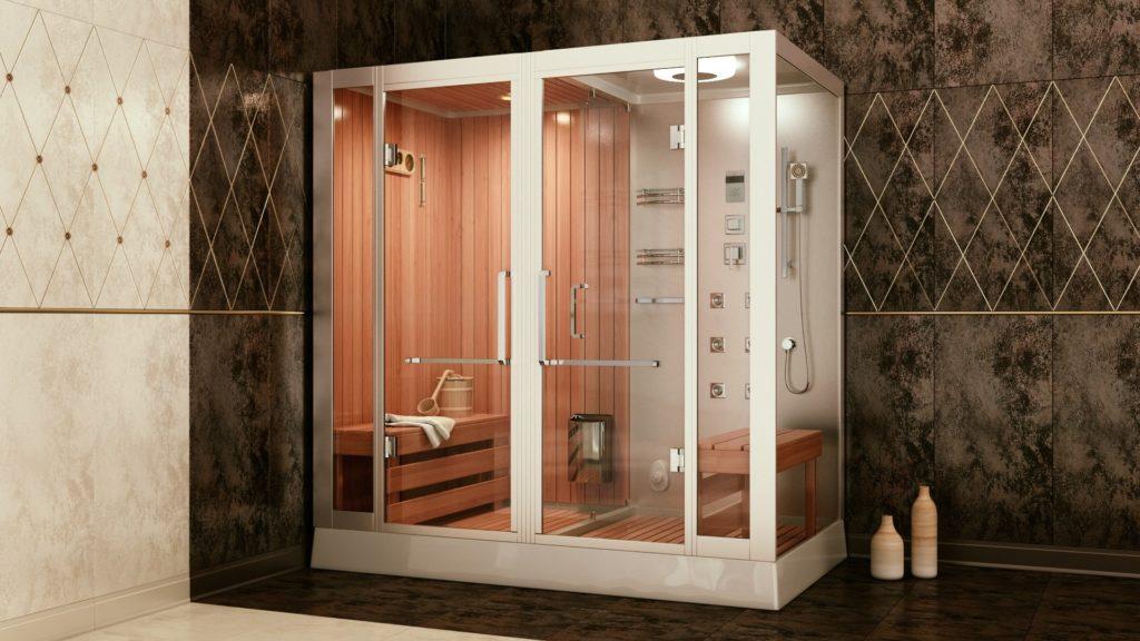 Замена душевой кабины меняет вид ванной комнаты
